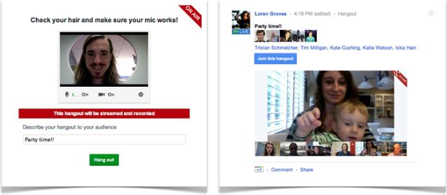 Videoconferencia Google+