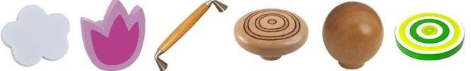 Pomos de madera paramuebles